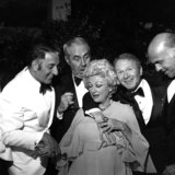 Danny Thomas Photo - Danny Thomas Jim Backus Red Buttons Gavin Macleod and Phyllis Diller Photo by Nate Cutler-Globe Photos