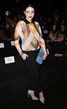 Naeem Khan Photo - Naeem Khan Fw 2015 Fashion Show Celebrities Mercedes Benz Fashion Week Lincoln Center NYC February 17 2015 Photos by Sonia Moskowitz Globe Photos Inc 2015 Michelle Trachtenberg