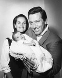 Andy Williams Photo - Andy Williams with Wife Claudine Longet and Daughter Noelle Williams 1964 Supplied by Globe Photos Inc