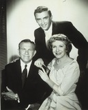 Gracie Allen Photo - George Burns with Son Ronny Burns and Gracie Allen Supplied by Globe Photos Inc