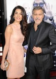 Amal Alamuddin Photo - Amal Alamuddin Clooney George Clooney attending the Los Angeles Premiere of Our Brand Is Crisis Held at the Tcl Chinese Theatre in Hollywood California on October 26 2015 Photo by David Longendyke-Globe Photos Inc
