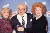 Audrey Meadows Photo - Art Carney with Joyce Randolph and Audrey Meadows A6095 Photo by Adam Scull-Globe Photos Inc