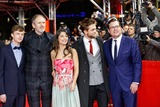 Anton Corbijn Photo - L-r Dane Dehaan Anton Corbijn Alessandra Mastronardi Robert Pattinson Kristian Bruun Life Premiere Berlin International Film Festival Berlin Germany February 09 2015 Roger Harvey