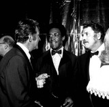 Burt Lancaster Photo - Dean Martin Bill Cosby and Burt Lancaster c1062-17 Nate CutlerGlobe Photos Inc