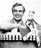 Mr Rogers Photo - Fred Rogers and King Fridayof the Fantsay Neighborhood of Make Believe on the Pbs Childrens Program Mister Rogers Neighborhood Photowalt Seng  Globe Photos Inc Fredrogersretro (Mr Rogers)