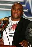 BOBBY LASHLEY Photo - Donald Trump and World Wrestling Entertainment Host News Conference For Wrestlemania 23 at Trump Tower 725 5ave Date 03-28-2007 Photos by John Barrett-Globe Photosinc Bobby Lashley