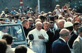 John Paul Photo - Pope John Paul Ii Photo Michael Nelson - Globe Photos Inc 1980