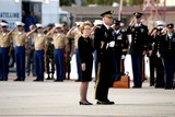 President Ronald Reagan Photo - NANCY REAGAN FOLLOWS THE COFFIN TO THE PLANE AT POINT MUGU -The flag draped casket of former president Ronald Reagan is carried in the hearse for transport to the Naval Base Ventura County at Point Mugu from the Ronald Reagan Presidential Library and then flown to Washington DC for the state funeralMOORPARK CA -06092004 -PHOTO BY POOLGLOBE PHOTOS INC2004K37630NP