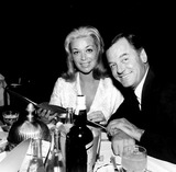 Gig Young Photo - Gig Young and Wife Photo ByGlobe Photos Inc