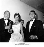 Dean Martin Photo - Academy Awards Sophia Lorenjacquets Tati and Dean Martin Photo Supplied by Globe Photosinc