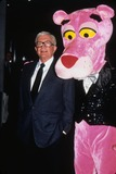 PINK PANTHER Photo - Blake Edwards with Pink Panther 1993 L6232st Photo by Stephen Trupp-Globe Photos Inc