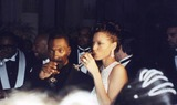 NICOLE MITCHELL Photo - Eddie Murphys Wedding to Nicole Mitchell at the Plaza New York City 03-18-1993 Photo by John Barrett-Globe Photos