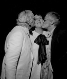 Art Carney Photo - Jean Stapleton with Art Carney and Paul Bogart 3278 Supplied by Globe Photos Inc