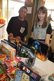 Chelsea Cook Photo - Working Dreams and Families For Children 2014 Holiday Toy Drive Marriott Courtyard Culver City CA 12162013 Desmond Haylock and Chelsea Cook Clinton H Wallace-Globe Photos Inc