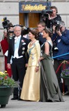Queen Silvia Photo - State Banquet-swedish State Visit-malmo Town Hall Copenhagen Denmark 05-11-2007 Photo by Ricardo Ramirez-richfoto-Globe Photos Inc King Carl Gustav Queen Silvia and Princess Victoria of Sweden