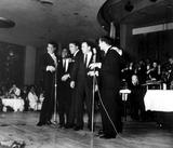 The Rat Pack Photo - The Rat Pack Frank Sinatra Sammy Davis Jr Dean Martin Peter Lawford and Joey Bishop Bill KobrinGlobe Photos Inc
