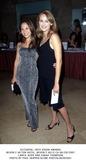 Lamya Photo -  28th Vision Awards Beverly Hilton Hotel Beverly Hills CA 06282001 Lamya Jezer and Sarah Thompson Photo by Paul SkipperGlobe Photos