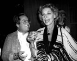 Alan Carr Photo - Laurenbacallretro Lauren Bacall_alan Carr Photo by Bob Noble  Globe Photosinc A2643