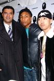 Nigo Photo - Pharrell Williams Hosts Store Opening of Nigos a Bathing Ape in New York City 01-11-2005 Photo by John KrondesGlobe Photos Inc 2005 Jacob the Jeweler Pharrell Williams and Nigo