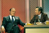 Bob Hope Photo - Johnny Carson with Bob Hope 1975 M6979 Photo by Bill Crespinel-Globe Photos Inc