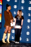 Avril Lavigne Photo - Sd010703 45th Annual Grammy Awards Nominations Announcements at Madison Square Garden NYC Photo by John BarrettGlobe Photosinc 2003 Ashanti and Avril Lavigne