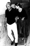 Jacqueline Kennedy Onassis Photo - Jacqueline Kennedy Onassis and Her Brother-in-law 25857 Globe Photos Inc Jacquelinekennedyonassisobit