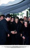 As Yet Photo - IMAPRESS PH  CLEMOT  BENITOFUNERAL OF PRINCESS LEILA PAHLAVI IN PARIS 16TH JUNE 2001 IN TOTAL BEREAVEMENT THE EX-EMPRESS OF IRAN FARAH PAHLAVI BURIED HER DAUGHTER IN THE PASSY CEMETERY IN PARIS LEILA PAHLAVI 31 PASSED AWAY A WEEK AGO IN LONDON THE OFFICIAL COMMUNIQUE WRITTEN BY HER MOTHER INDICATED THAT SHE PASSED AWAY IN HER SLEEP BUT THE EXACT CIRCUMSTANCES OF THE DEACEASED REMAIN AS YET UNKNOWNAROUND A BOX CONTAINING EARTH FROM IRAN PRINCE ALI REZA REZA II PRINCESS FARAHNAZ EMPRESS FARAH AND PRINCESS ASHRAFCREDIT IMAPRESSCLEMOTBENITOGLOBE PHOTOS INC