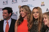 Abbe Raven Photo - Ae Networks Upfront the Tent at Lincoln Center NYC May 9 2012 Photos by Sonia Moskowitz Globe Photos Inc 2012 Mel Berning Nancy Dubuc Lindsay Lohan Abbe Raven
