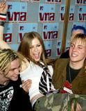 Avril Lavigne Photo - Avril Lavigne Mtv Video Music Awards Radio City Music Hall New York USA 829 Photo by Alec Michael Globe Photos Inc 2002 K26027am
