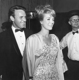 George Furth Photo - Inger Stevens with George Furth at thalianssupplied by Globe Photos Inc