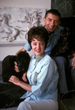 Aaron Spelling Photo - Aaron Spelling and Carolyn Jones Bill Kobrin-Globe Photos Inc