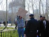 Charles Schwarz Photo - Protestor at Brooklyn Federal Courthouse For Charles Schwarz 4302 Photo Bruce Cotler K24716bco Photo by Bruce CotlerGlobe Photos Inc