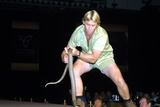 Terry Irwin Photo -  3602 Press Conference and Lunch For the Film the Crocodile Hunter During Showest in Las Vegas NV Steve Irwin Photo by John BarrettGlobe Photos Inc