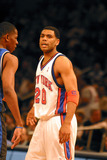 Allan Houston Photo - New York Knick Vs Magic at Madison Sqaure Garden  New York City 02282003 Photo John Barrett Globe Photos Inc 2003 Allan Houston