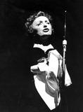 Edith Piaf Photo - Edith Piaf Photo by Roger JallyGlobe Photos Inc