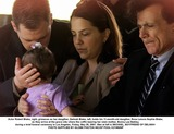 Bonnie Lee Bakley Photo - Actor Robert Blake right grimaces as her daugther Delina Blake left holds his 11-month-old daugther Rose Lenore Sophie Blake as they arrive at the grave site where the coffin bearing her slain mother Bonny Lee Bakley during a brief funeral ceremony in Los Angeles Friday May 25 2001 Man at left is MICHAEL BOYFRIEND OF DELINAH  PHOTO SUPPLIED BY GLOBE PHOTOS INCAP POOL K21950NP