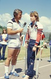 Andy Gibb Photo - Robert Conrad and Andy Gibb Credit Globe Photos Inc
