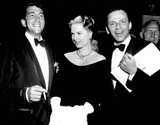 Dean Martin Photo - Frank Sinatra with Dean Martin and Martha Hyer 1964 3531 Photo by Ipol Archive-ipol-Globe Photos Inc