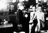 Andy Warhol Photo - Andy Warhol Filming Nude Restaurant New York Factory  Andy Warhol with Taylor Mead and Viva I2962bn Photo by Billy Name-ipol-Globe Photos Inc