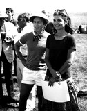 Jacqueline Kennedy Onassis Photo - Dick Cavett and Jacqueline Kennedy Onassis Ny1027 Paul AdaoGlobe Photos Inc Jacquelinekennedyonassisobit