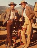 Jimmy Stewart Photo - Jimmy Stewart with Henry Fonda L2608 Supplied by Globe Photos Inc