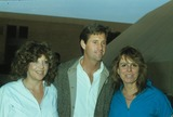 Alan Hunter Photo - Robert Hays with Tisha Fine and Diane Ogden 1984 N2909 F2570photo by Alan Hunter-Globe Photos Inc