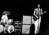 Keith Moon Photo - Keith Moon and Pete Townsend of the Who PipGlobe Photos Inc Petetownshendretro