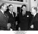 Kenneth Thompson Photo - Hollywood Delegation Seeks Presidential Aid in Release of  Frozen Dollars Washington DC 4149 Roy M Brewer Kenneth Thompson Ronald Reagan and Richard F Walsh Photo Supplied by Globe Photosinc