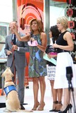 HODA KOTBE Photo - Matt Lauer Hoda Kotb  Sheinelle Jones and Dylan Dryer at the Fifth Harmony Performance on the Toyota Concert Series on the Today Show Rockefeller Plaza NYC July 10 2015 Photos by Sonia Moskowitz Globe Photos Inc