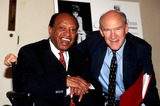 Alan Simpson Photo - Sd0619 Exbtn-kennedy Center in Washington DC Senator Alan Simpson_lionel Hampton Photo Byjames M KellyGlobe Photos Inc