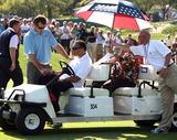 Nick Faldo Photo - Nick Faldo Meets Muhammad Ali 37th Ryder Cupvalhalla 37th Ryder Cup Valhalla Kentuckyusa Valhalla Golf Club Louisville Kentucky USA 18 September 2008 Dic11727  K59880 Photo by Richard Sellers-allstar-Globe Photos Inc 2008