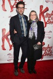 Al Hirschfeld Photo - Kinky Boots Opening Night on Broadway Al Hirschfeld Theater NYC April 4 2013 Photos by Sonia Moskowitz Globe Photos Inc 2013 Zachary Quinto Cherry Jones