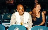 Montel Williams Photo - Montel Williams and Wife at the George Foreman Vs Axel Schultz For the Ibf Heavyweight Title in Las Vegas 1995 K1323jbb John BarrettGlobe Photos Inc