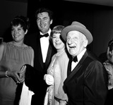 Jimmy Durante Photo - Fess Parker and Wife with Jimmy Durante and Wife at the Emmy Awards a923-10 Nate CutlerGlobe Photos Inc
